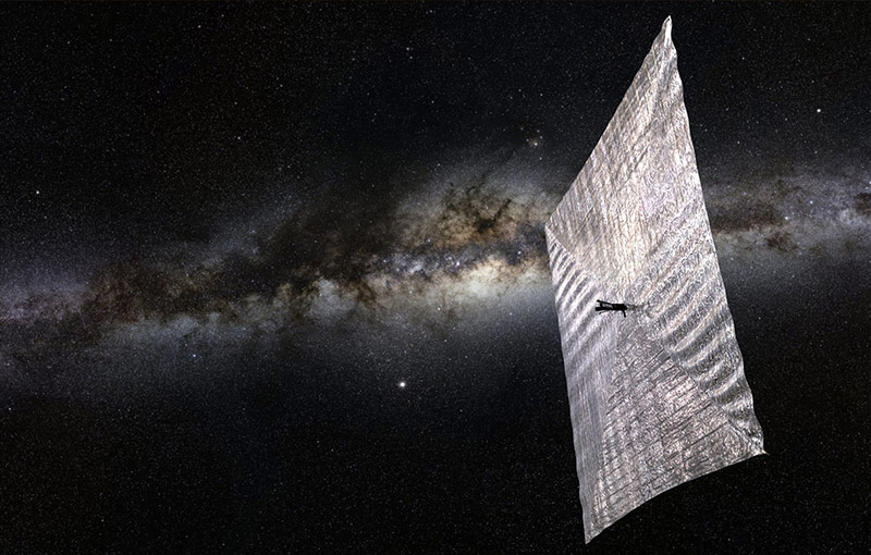 solar sailing spacecraft