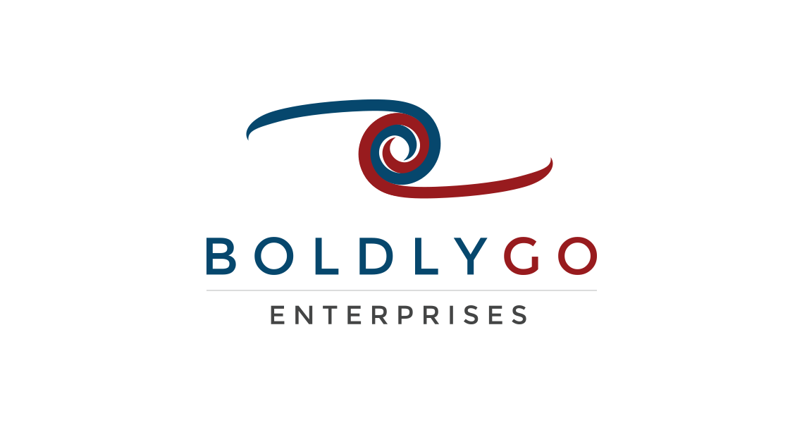 BoldlyGo Enterprises logo on white