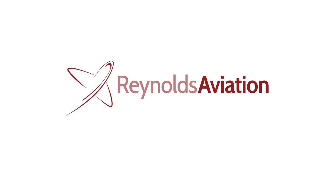 Reynolds Aviation logo on white