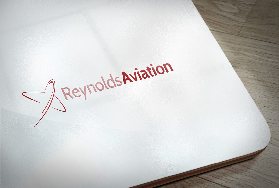 Reynolds Aviation embossed logo